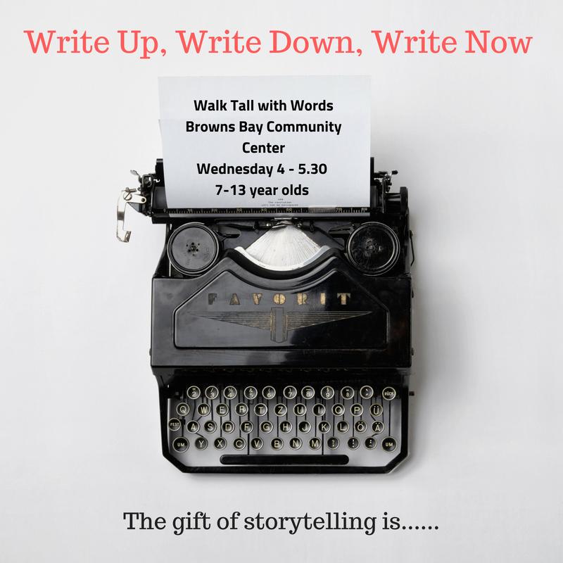 Write Up, Write Down, Write Now